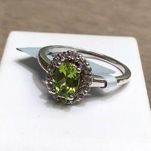 Gemstone Ring Sterling